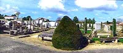 cimetière protestant de Saint Palais sur mer